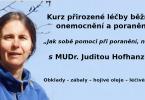 Judita Hofhanzlová webinář