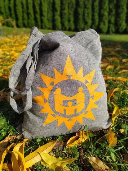 Nákupní taška z recyklované bavlny