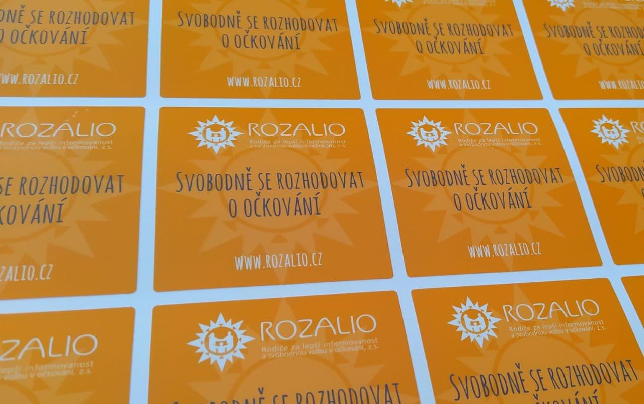 Nálepka Rozalio